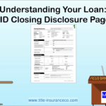TRID Closing Disclosures Understanding Page 1